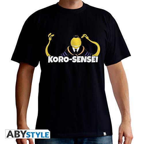 (AbyStyle Abysse Corp abytex435Ermordung classroom-t-shirt Koro Sensei Man SS black-basic, unisex-child, klein)