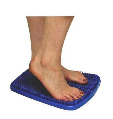 Fußreflexzonen Matte, Reflexzonen Massage Matte Größe: 33 x 28 Cm 1 Stück Farbe: Blau Hersteller: Stock-Fachmann