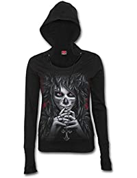 Spiral Hoodie Women's - Day of The Goth D066F267