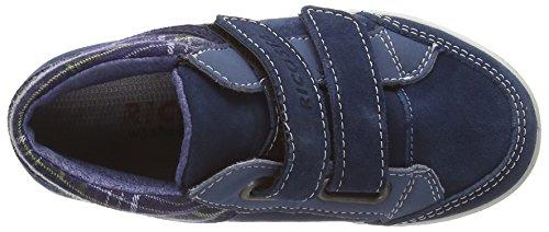 Ricosta Bayon M 62 Jungen Stiefeletten mit dünnem Futter Blue (Pavone Blue)
