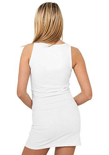 Urban Classics Damen Kleid - verschiedene Farben White