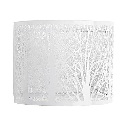 Mathias 3310426 Applique Tree Métal 15 W E14 Blanc L24 H20 Cm