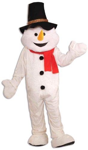 (Snowman Mascot Fancy Dress)