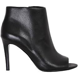 Lauren by Ralph Lauren Mina, Damen desert boots , schwarz - schwarz - Größe: 36 EU