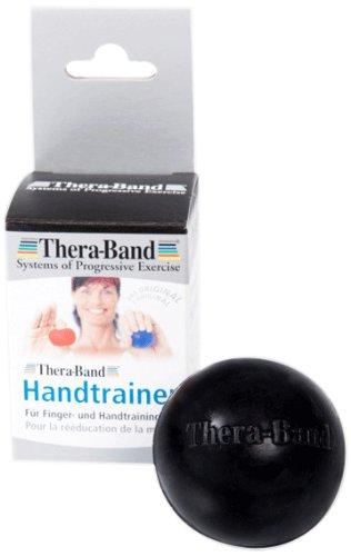 Thera-band Handtrainer, Schwarz-Extra Hart, 26060