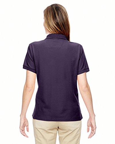 Devon & Jones Mesdames» Pima piqu? T-Shirt y-collar Polo à manches courtes violet intense