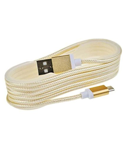 Meizu Pro 6 Micro usb fast charging Cable -Golden