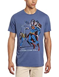 T-shirt Superman Is Now Single Junk Food Clothing - taille XL