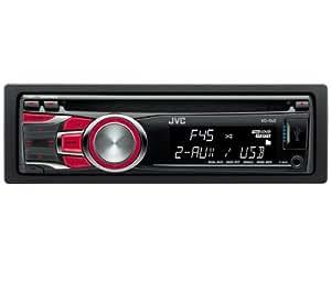 JVC KD-R45E Autoradio CD/mp3/wma 4 x 50 W USB Noir