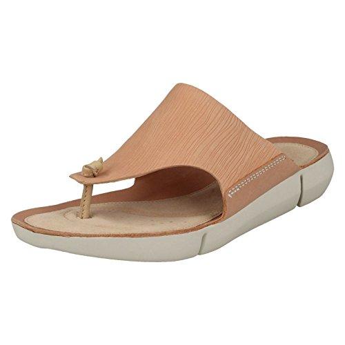 Clarks Damen Zehentrenner Clogs Pantoletten Tri Carmen Scharz oder Rosa 2613175 (39, Rosa) (Schuhe Clogs Clarks Damen)