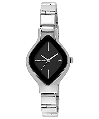 Fastrack Analog Black Dial Women's Watch-NK6109SM02