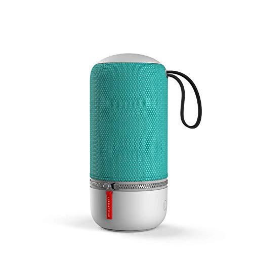 Libratone LH0021000EU2013 ZIPP MINI 2 Smart Wireless Lautsprecher (Alexa Integration, AirPlay 2, MultiRoom, 360° Sound, Wlan, blautooth, Spotify Connect, 12 Std. Akku) pine grün
