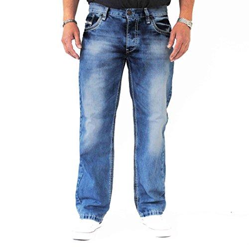Viazoni Jeans Hugo-4 Hellblau