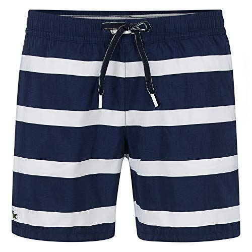 Lacoste Medium Cut Colorblock Swim Trunks - Lacoste Männer Hosen