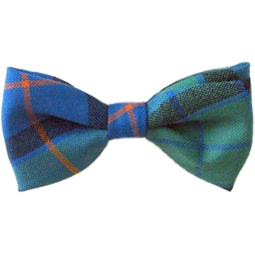 Tartan Bow Tie, Pre-tied in Pure Wool, Available in a Selection of Tartans