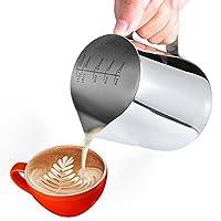 580ml/20.oz,stainless steel milk pitcher