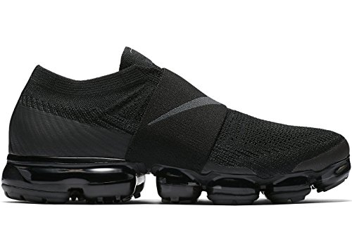 Nike Air Vapormax Flyknit Moc - Black/Anthracite Trainer Size 9 UK
