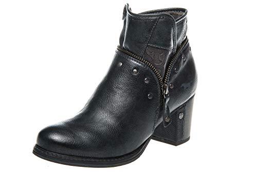 Mustang Shoes Shoes - Botas de Sintético para Mujer Azul Azul Marino, Color Azul, Talla 43 EU