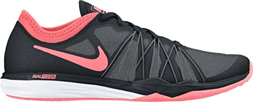Nike Damen Wmns Dual Fusion Tr Hit Sneakers MTT SILVER/MTT SLVR-ACTN RD-SL