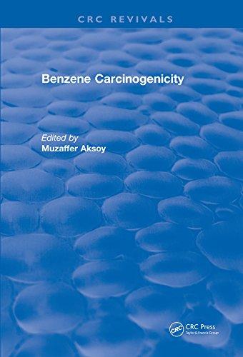 Benzene Carcinogenicity (crc Press Revivals) por Muzaffer Aksoy epub