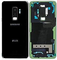 Original Akkudeckel für Samsung Galaxy S9 PlUS G965F Duos Akkudeckel Batterieabdeckung Deckel Backcover Midnight Schwarz Black / Werkzeug