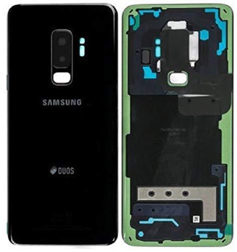 Original Akkudeckel für Samsung Galaxy S9 Plus G965F Duos Akkudeckel Batterieabdeckung Cover Deckel Backcover Midnight Schwarz Black GH82-15660A / Werkzeug