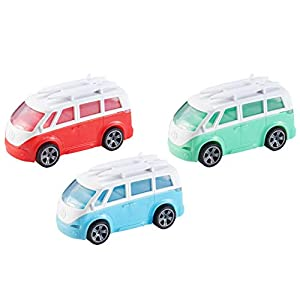 Teamsterz HTI 7535-74319 Metal Camper Van 1:43, Multicolor Autocaravana