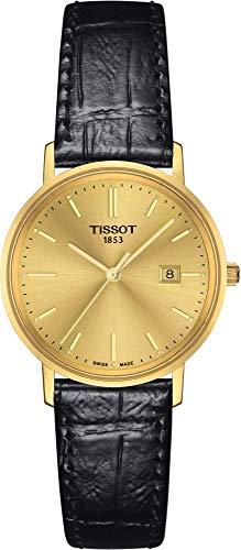 Tissot GOLDRUN 18KT GOLD T922.210.16.021.00 Montre Bracelet pour femmes