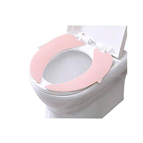 WC Sitz WC Deckel Universal Cover Matte dolphin-type waschbar Badezimmer Zubehör rose