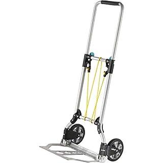 wolfcraft TS 600 Transportsystem 5505000 | Komfortable & klappbare Handkarre für Lasten bis 70 kg | Stabile Sackkarre für Getränkekisten, Blumenkübel, u.v.m.