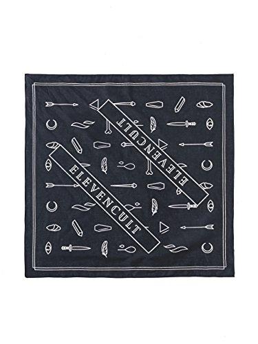 ELEVENCULT - Myth Dogs Bandana - Halstuch - schwarz / weißeiß (Kleidung Brown Chris)