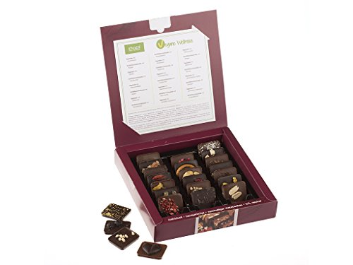 chocri - Assortiment de chocolats vegan « tour du monde »