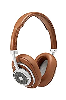 Master & Dynamic MW50+ Bluetooth 2-in-1 Wireless Headphones with 40 mm Beryllium Driver for High Sound, Converts from On-Ear Headphones to Over-Ear Headphones, Silver/Brown (B07DHSBRJW)   Amazon price tracker / tracking, Amazon price history charts, Amazon price watches, Amazon price drop alerts