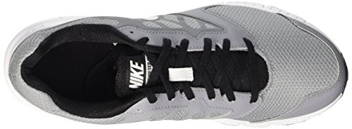 Nike Downshifter 6, Chaussures Multisport Outdoor Homme Grey / Blanc / noir (Stealth / Blanc-Black-Black)