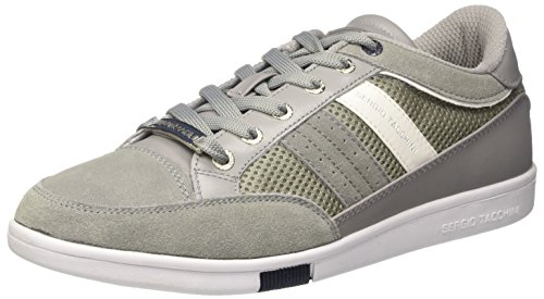Sergio Tacchini San Remo Mesh, Sneakers Basses Homme Gris