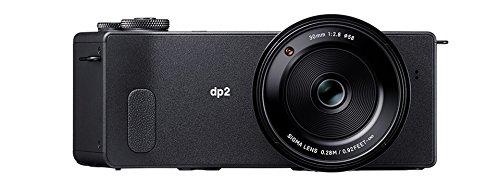 Sigma dp2 Quattro Digitalkamera (39 Megapixel, 7,6 cm (3 Zoll) Display, SD-Slot, USB 2.0) schwarz