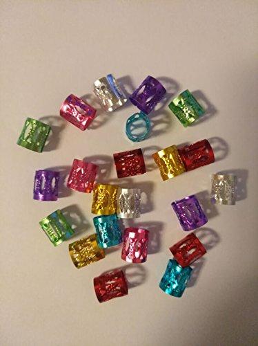 20-stuck-lot-mix-silber-golden-vergoldet-haar-braid-dread-dreadlock-perlen-verstellbar-cuff-clip-8-m