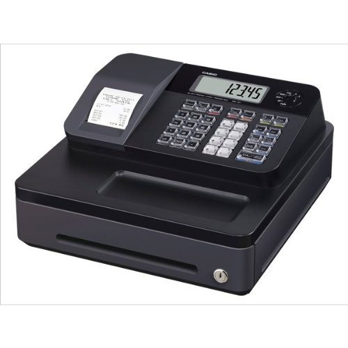 new-black-casio-electronic-se-g1-cash-register-shop-till-thermal-printer-20-free-rolls