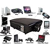 OnlineGymShop CB15156 1080-HDMI TV DVD Paystation HD Home Theater Multimedia LCD Projector