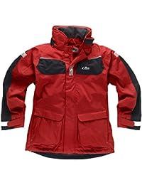 Gill Men's Coast Jacket Red/Graphite IN12J