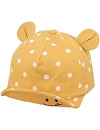 QinMM Sombrero de Punto Lindo de Las Niñas y Niños bebé, Gorra de Sol de