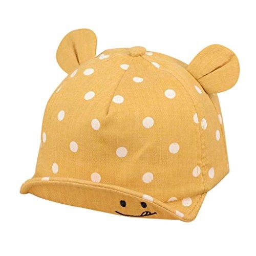 QinMM Sombrero Punto Lindo Las Niñas Niños bebé