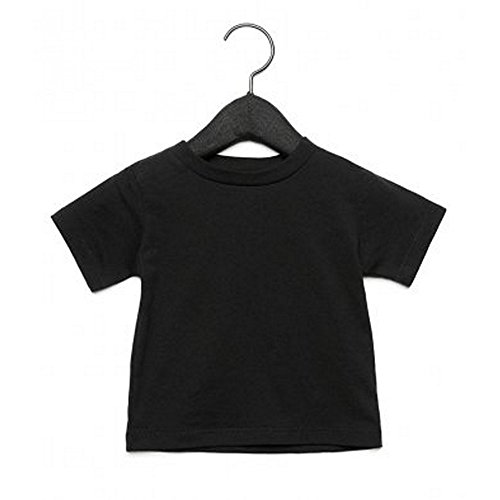 Bella + Canvas Camiseta de Manga Corta con Cuello Redondo Para Bebé...