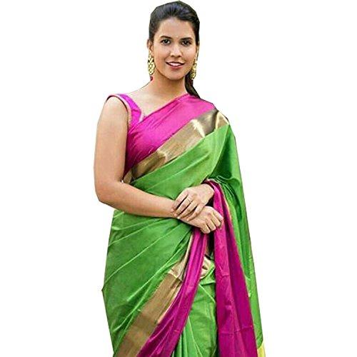 Saree New Collection 2018 Bhagalpuri Cotton Silk Sarees For Women
