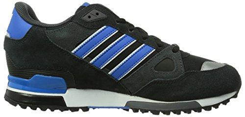 Adidas, ZX 750, Scarpe sportive, Uomo C Black/BLUBIR/FTWWHT
