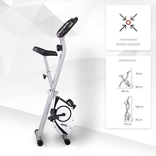 SportPlus X-Bike ohne Rückenlehne (klappbar), Standard