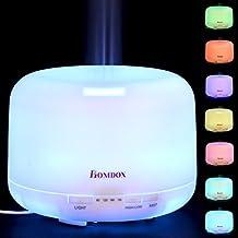 Homdox Humidificador Portátil Aromaterapia Aceites para Bebé Humidificador Ultrasonico silencioso 500ml para Casa y Oficina