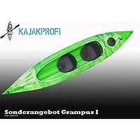 Kajak Magic Transparent super Kippstabil mit offener Luke Zweierkajak Kanu Kajak Ruder- & Paddelboote Bootsport