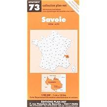 Carte routière : Savoie