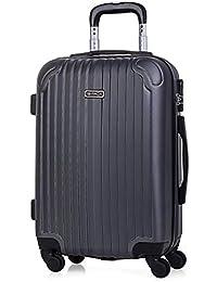 ITACA - Maletas de Viaje Rígidas 4 Ruedas Trolley ABS. Neceser. Resistentes y Ligeras. Mango Asas y Candado. Pequeña Cabina Low Cost Ryanair, Mediana y Grande XL.